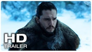 GAME OF THRONES Season 8 Jon Snow And Arya Stark Reunited Trailer #2 (NEW 2019) GOT Series HD