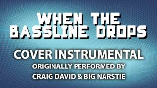 When The Bassline Drops (Cover Instrumental) [In the Style of Craig David & Big Narstie]