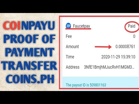 Coinpayu legit and free website with proof of payment