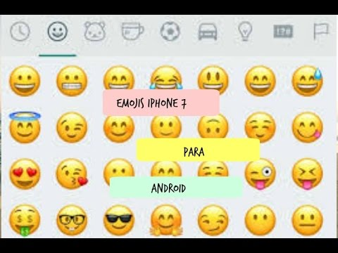 how to get iphone emojis on android como tener emojis de iphone 7 en android no root 2515