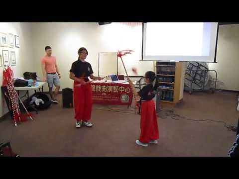 DiSCOVER Chinese Opera Workshop 3 - Fighting Demonstration
