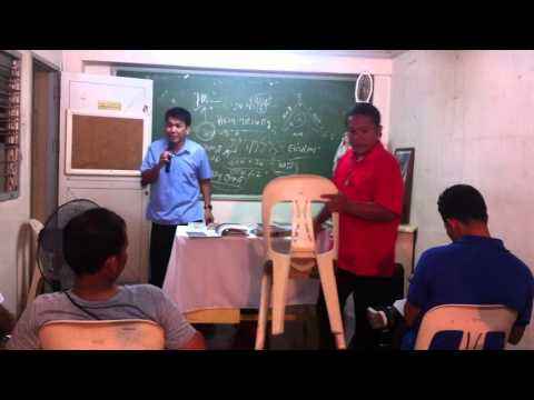 (LCA) Lay Catholic Apologist of Davao - Holy Trinity lecture Part 1