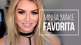 MINHA MAKE FAVORITA DE TODO DIA