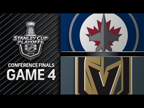 Golden Knights edge Jets to grab 3-1 series lead