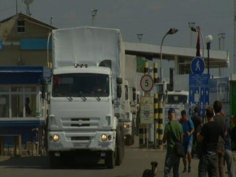 Ukraine Calls Russian Convoy a 'direct Invasion'