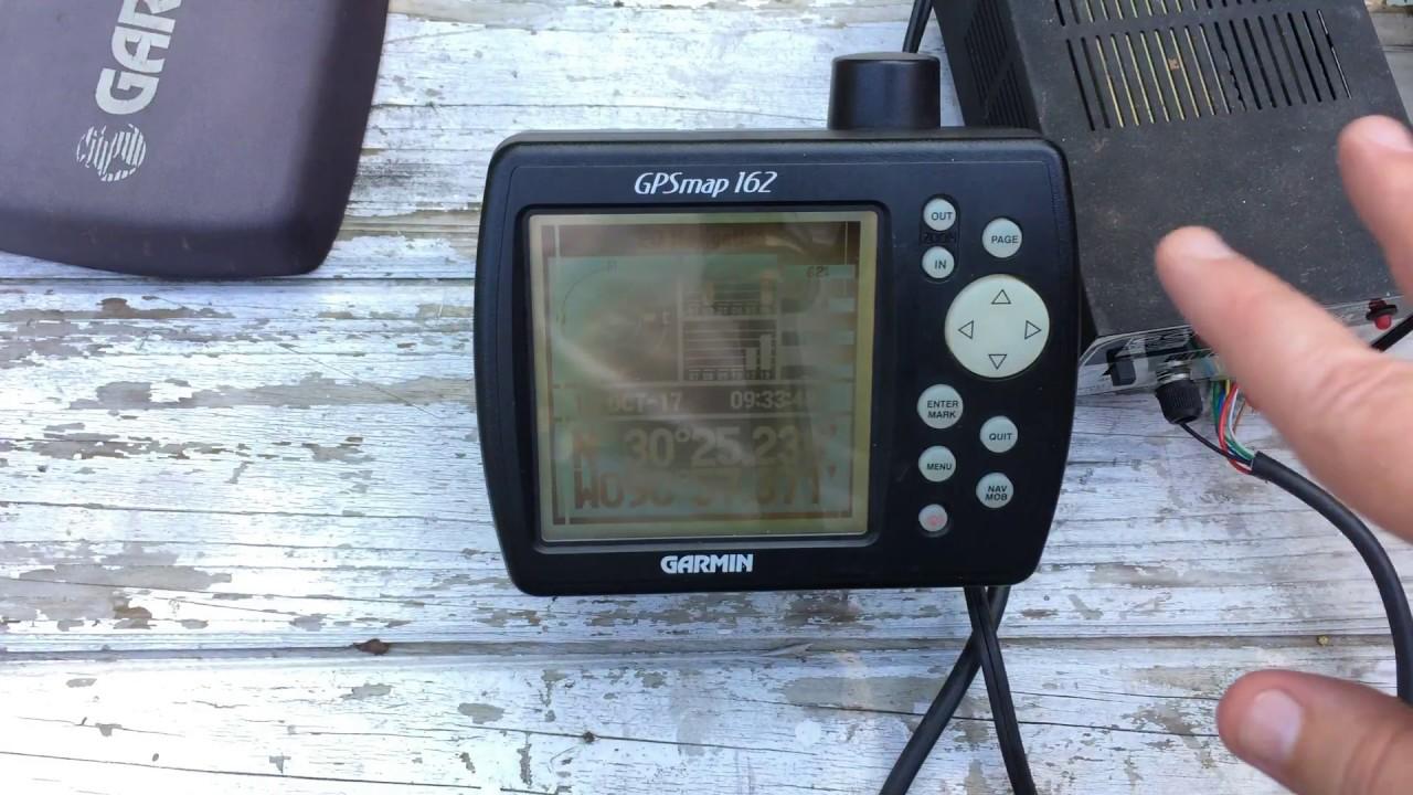medium resolution of garmin gpsmap 126 gps receiver chartplotter ebay demo vid