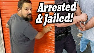 PRIOR OWNER ARRESTED & JAILED. I bought their locker for $30 at the abandoned storage auction