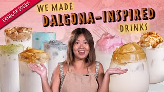 Making Dalgona Coffee, Speculoos And Bandung | Eatbook Cooks | EP 20