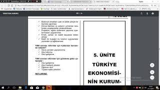 2018 Türkiyenin Toplumsal Yapısı  2018 Güz Ara Sınav Çıkmış Sınav Soruları  açıklamalı ve çözümlü