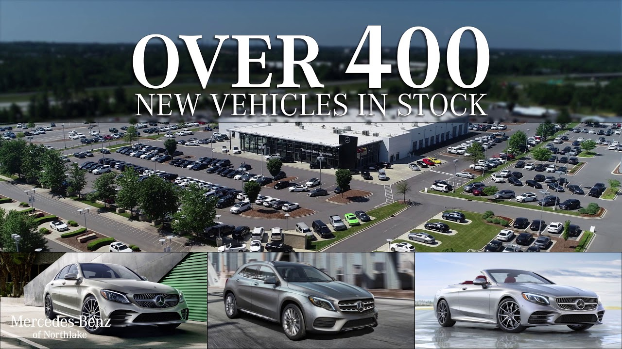 Mercedes Of Northlake >> Over 400 Vehicles In Stock Mercedes Benz Of Northlake
