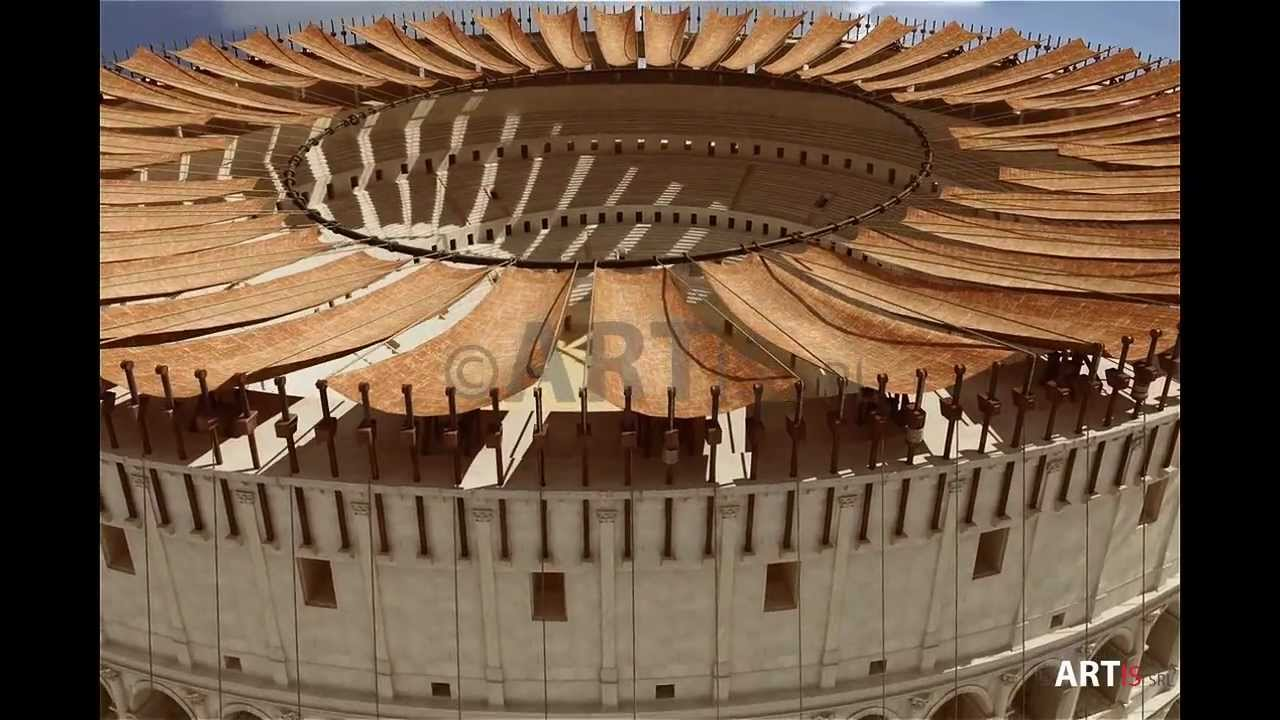 10 Velarium The Colosseum Revealed Documentary