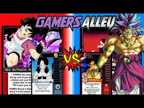 Gamer's Alley 2017 Ruthless Videl vs Resourceful Broly