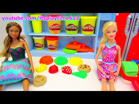 Play-Doh SUPERMARKET STORE Creative Activity for Kids | itsplaytime612