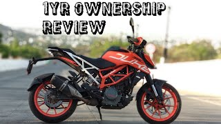 2017 KTM DUKE 390 ONE YEAR OWNERSHIP REVIEW