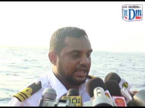 Navy Spokesman Lieutenant Commander Chandima Walakuluge