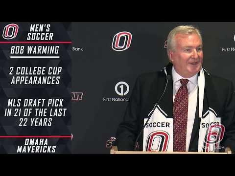 Men's Soccer News Conference - New Head Coach Bob Warming