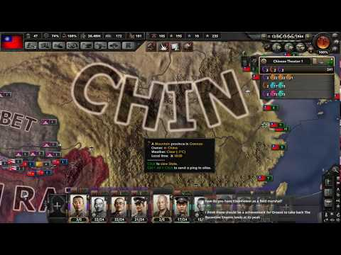 *VOD* - Hearts of Iron IV (Republic of China) - Part 6: Fight for Democracy