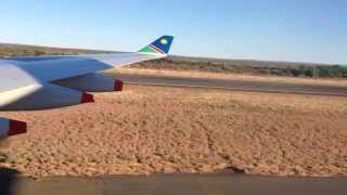 Air Namibia Landung in Windhoek SW 286 Teil 2