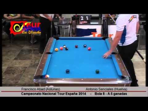 Campeonato Nacional Tour España 2014; Francisco Abad vs Antonio Senciales