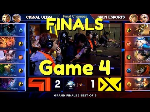 MPL FINALS Game 4 (BREN vs CIG) CAN BREN COMEBACK??? - MPL PH Season 2 Championship