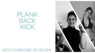 Plank Back Kick