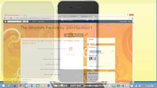 Blogger Smartphone App by John Hardison on August 21 2014 HD