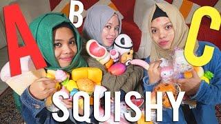 SQUISHY NYA ROBEK - ABC Lima Dasar Challenge Edition - RUSUH!   Gen Halilintar