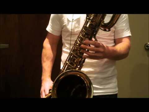 Conn 12M Transitional Baritone Saxophone
