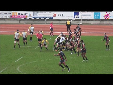 Rugby Fédérale 1 ROC vs SOC