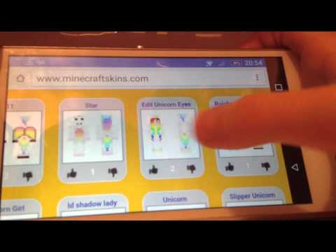 How To Get A New Skin On Minecraft PE With SkinDex