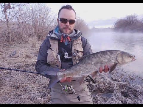 рыбалка на спиннинг весной на малых реках видео