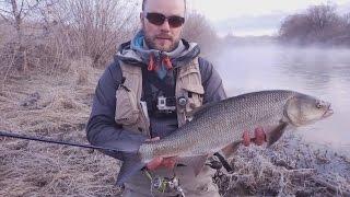 Ловля жереха на спиннинг весной на малой реке.