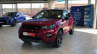 Land Rover Discovery Sport 2.0 TD4 HSE Black 4X4