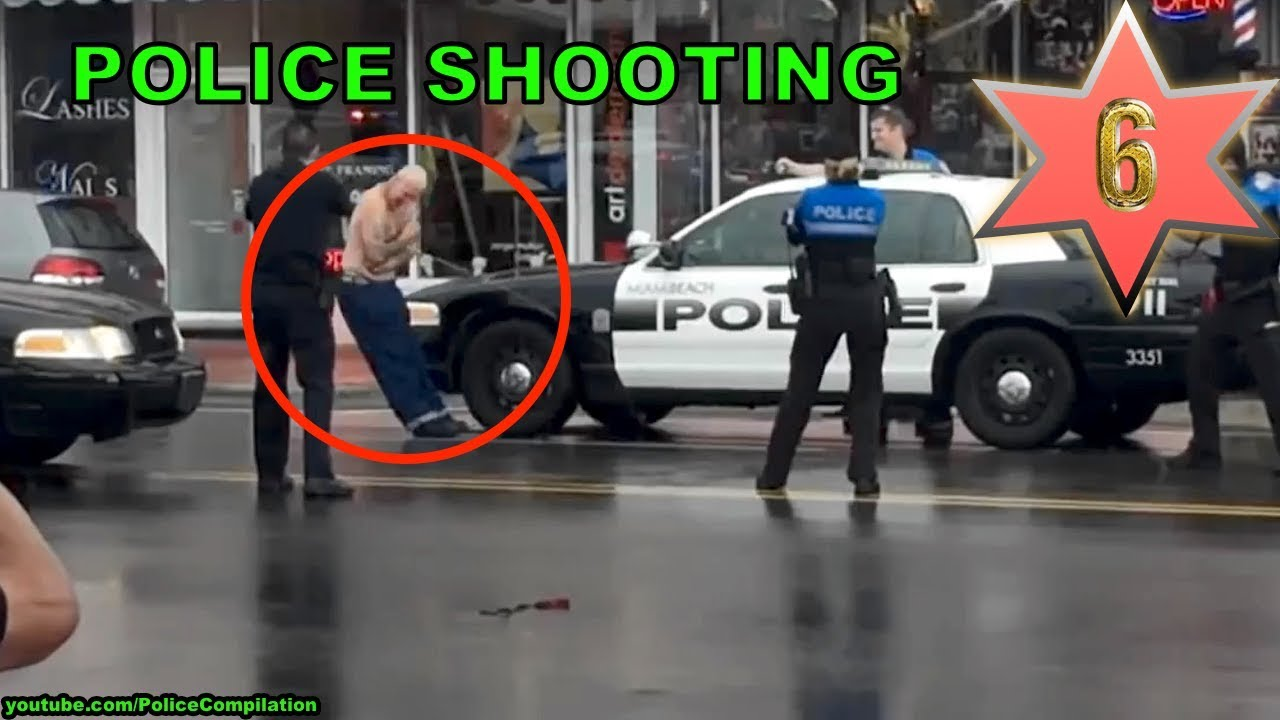 Police shooting criminals, part 6