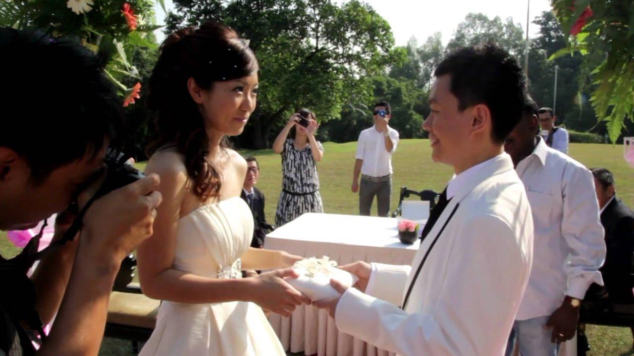 Garden Wedding Ceremony Of Tze Ping See Yee In Kuala Lumpur You