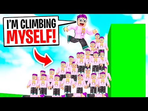 Can We Climb The TALLEST WALL In ROBLOX RAGDOLL STACK!? (*MAX LEVEL* RAGDOLL BROKE OUR COMPUTERS!)