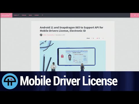 Mobile Driver License Support Coming to Android