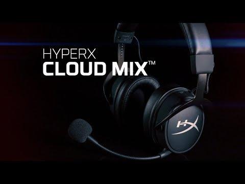 HyperX lança o headset Cloud Mix com Bluetooth e recursos para gamers