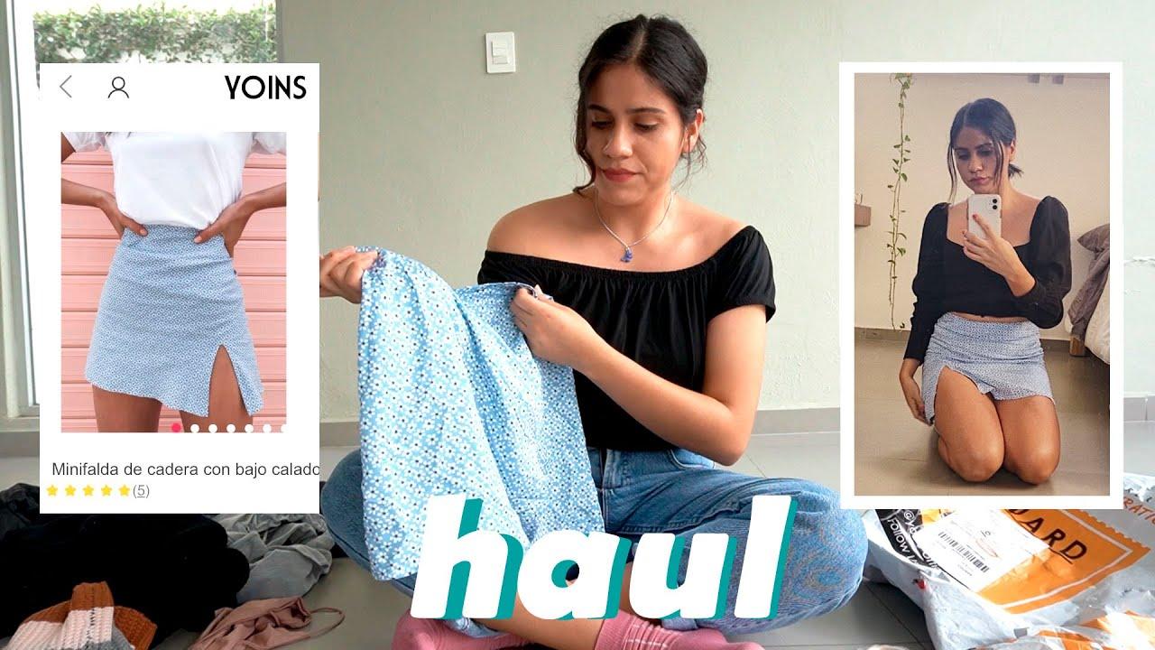 Mi primer Haul + Outfits | Yoins