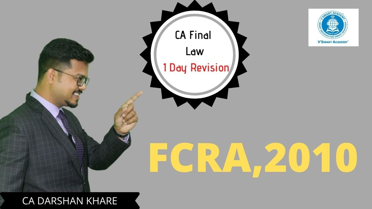 CA Final Law 1 day Revision FOR MAY 20 Part 4: FCRA, 2010