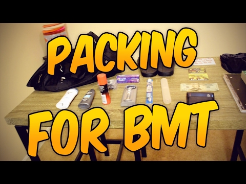 Packing for BMT! / United States Air Force