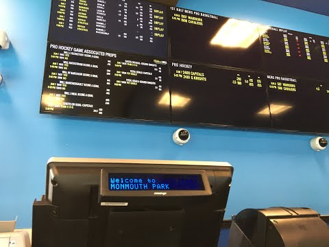 Sports betting in New Jersey: Inside Monmouth Park