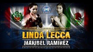Linda Lecca pierde el título mundial ante la mexicana Maribel Ramir...