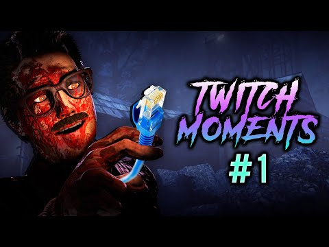 STOP DC'ING! - Best Twitch Moments #1 - Dead By Daylight