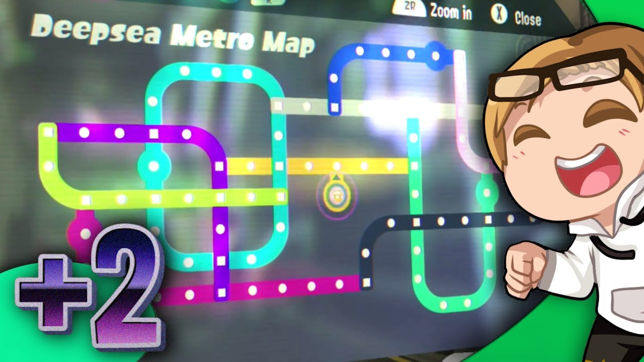 Splatoon 2 Octo Expansion Subway Map.All Tests Complete Splatoon 2 Octo Expansion Bonus Ep2
