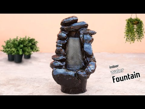 how-to-make-black-stone-model-indoor-tabletop-water-fountain