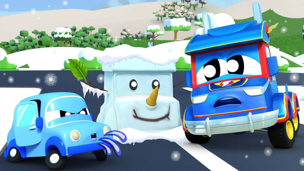 It's so Cold in Car City, SuperTruck!  | Super Truck | Car City World App