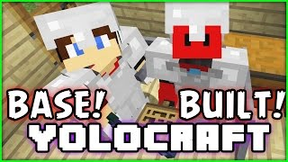 YOLOCRAFT - MINECRAFT - Season 6 - Episode 25 - Base Established!!