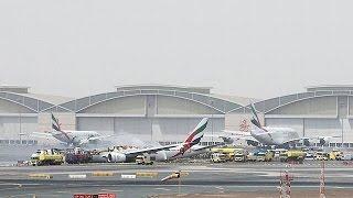 14 blessés et un pompier mort dans l'accident d'un Boeing 777 à Dubaï