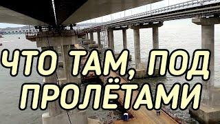 Крымский мост(декабрь 2018) Установка Ж/Д пролётов на штатные места! Процесс! Мост с Тамани!